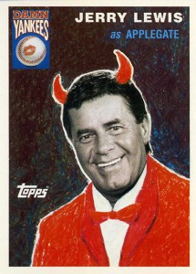 1995 Topps Damn Yankees Jerry Lewis