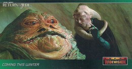 1996 Topps Return of the Jedi Widevision Trading Cards 25