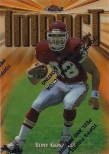 Tony Gonzalez Cards, Rookie Cards and Autographed Memorabilia Guide 2
