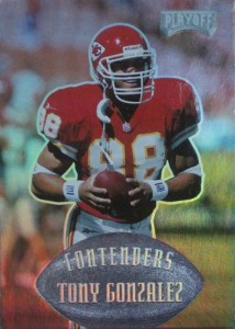 Tony Gonzalez Cards, Rookie Cards and Autographed Memorabilia Guide 3