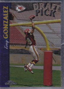 Tony Gonzalez Cards, Rookie Cards and Autographed Memorabilia Guide 25