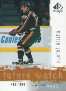 Marian Gaborik Cards, Rookie Cards and Autographed Memorabilia Guide 2