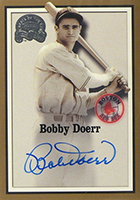 Bobby Doerr Cards, Rookie Card and Autographed Memorabilia Guide
