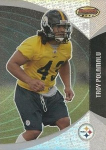 2003 Bowmans Best Troy Polamalu RC