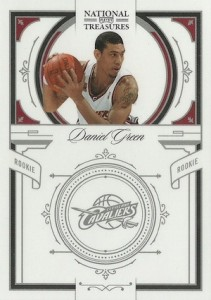 2009-10 Panini National Treasures Danny Green RC #197