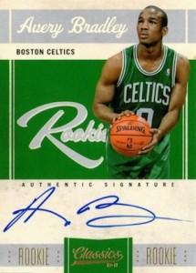 2010-11 Panini Classics Rookie Autograph Avery Bradley