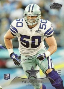 2010 Topps Prime Sean Lee RC