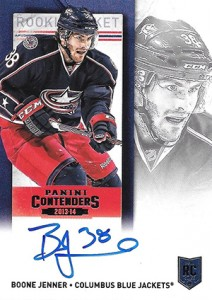 2013-14 Panini Contenders Hockey Rookie Ticket Autograph Variations Guide 8