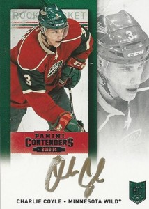 2013-14 Panini Contenders Hockey Rookie Ticket Autograph Variations Guide 12