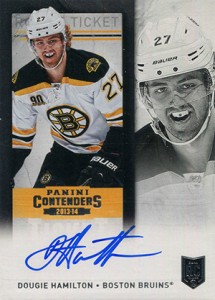 2013-14 Panini Contenders Hockey Rookie Ticket Autograph Variations Guide 51