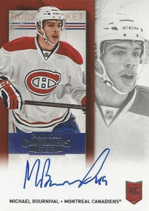 2013-14 Panini Contenders Hockey Rookie Ticket Autograph Variations Guide 75