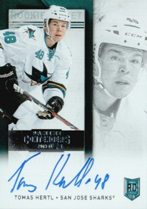 2013-14 Panini Contenders Hockey Rookie Ticket Autograph Variations Guide 81