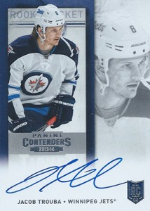 2013-14 Panini Contenders Hockey Rookie Ticket Autograph Variations Guide 87