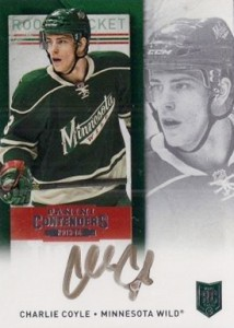 2013-14 Panini Contenders Hockey Rookie Ticket Autograph Variations Guide 13
