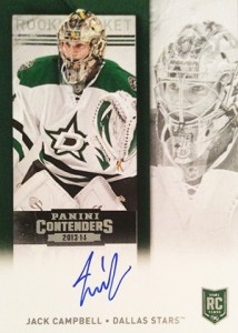 2013-14 Panini Contenders Hockey Rookie Ticket Autograph Variations Guide 22