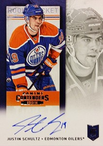 2013-14 Panini Contenders Hockey Rookie Ticket Autograph Variations Guide 64