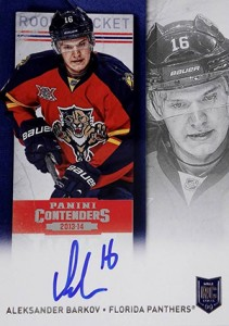 2013-14 Panini Contenders Hockey Rookie Ticket Autograph Variations Guide 68