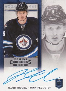 2013-14 Panini Contenders Hockey Rookie Ticket Autograph Variations Guide 88