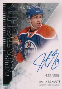 2013-14 SP Authentic 283 Justin Schultz
