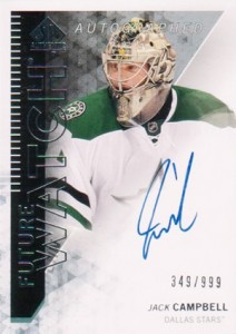 2013-14 SP Authentic 303 Jack Campbell