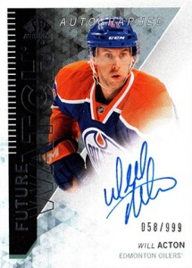 2013-14 SP Authentic 311 Will Acton