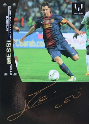 Top Lionel Messi Soccer Cards to Collect 3