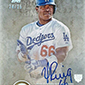 Yasiel Puig Signs Exclusive Autograph Deal with Topps