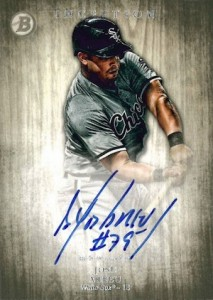 2014 Bowman Inception Baseball Prospect Autographs Jose Abreu