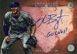 2014 Bowman Inception Baseball Cards 22