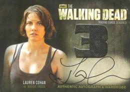 2014 Cryptozoic Walking Dead Season 3 Autographed Wardrobe AM2