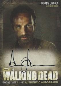 2014 Cryptozoic Walking Dead Season 3 Autographs A1