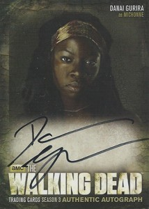2014 Cryptozoic Walking Dead Season 3 Autographs A8