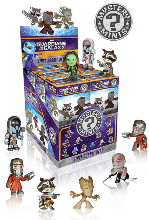 2014 Funko Guardians of the Galaxy Mystery Minis Case