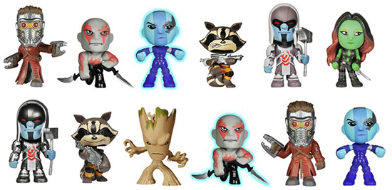 2014 Funko Guardians of the Galaxy Mystery Minis Lineup 550 width