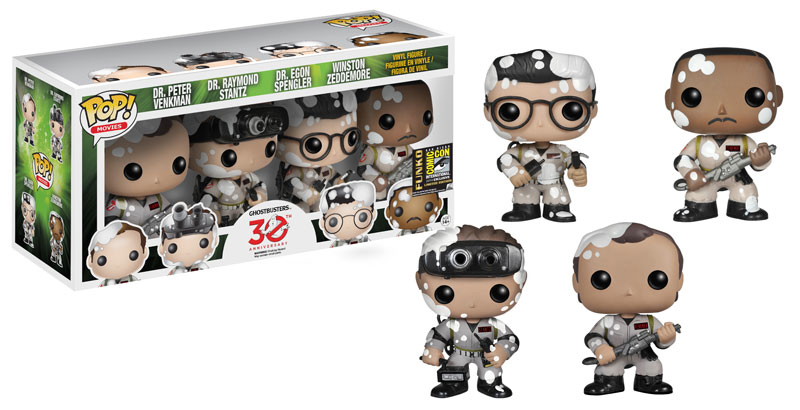 2014 Funko Pop Ghostbusters Gang Stay Puft SDCC