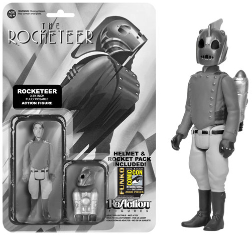 2014 Funko Rocketeer ReAction Black and White Rocketeer SDCC
