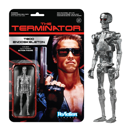 2014 Funko Terminator ReAction Figures T800 Endoskeleton