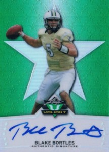 2014 Leaf Valiant Football Base Autographs Blake Bortles