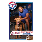 2014 Merrick Texas Rangers Dogs Safe at Home Baseball Cards