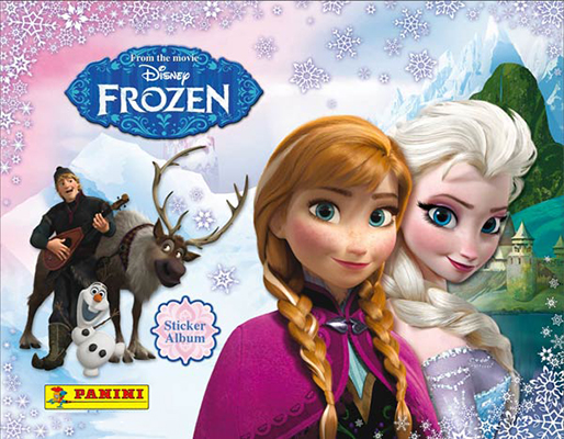 2014 Panini Frozen Stickers Album