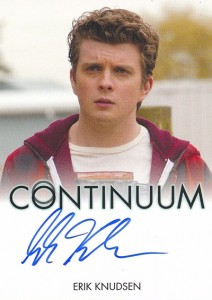 2014 Rittenhouse COntinuum Seasons 1 and 2 Autographs Erik Knudsen