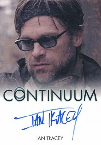2014 Rittenhouse COntinuum Seasons 1 and 2 Autographs Ian Tracey