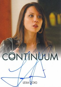 2014 Rittenhouse COntinuum Seasons 1 and 2 Autographs Lexa Doig