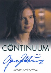 2014 Rittenhouse COntinuum Seasons 1 and 2 Autographs Magda Apanowicz