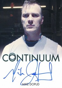 2014 Rittenhouse COntinuum Seasons 1 and 2 Autographs Mike Dopud