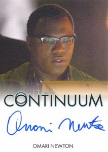 2014 Rittenhouse COntinuum Seasons 1 and 2 Autographs Omari Newton