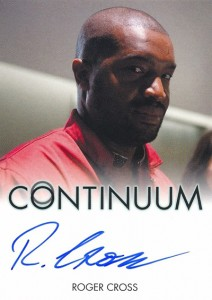 2014 Rittenhouse COntinuum Seasons 1 and 2 Autographs Roger Cross