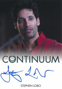 2014 Rittenhouse COntinuum Seasons 1 and 2 Autographs Stephen Lobo