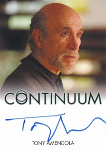 2014 Rittenhouse COntinuum Seasons 1 and 2 Autographs Tony Amendola