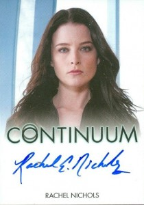 2014 Rittenhouse Continuum Seasons 1 and 2 Autographs Rachel Nichols